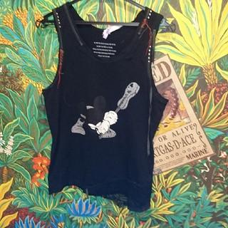 ロエン(Roen)のロエン ミッキー タンクトップ46(Tシャツ(半袖/袖なし))