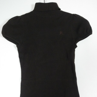 バーバリー(BURBERRY)の❤️バーバリー38brown綿100(カットソー(半袖/袖なし))