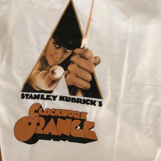 GU - 時計仕掛けのオレンジ Tシャツ カットソー Lサイズ GU