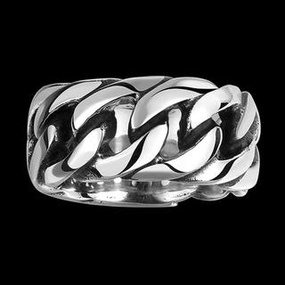 chain ring silver(リング(指輪))