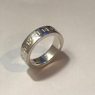 マルタンマルジェラ(Maison Martin Margiela)の13号◆マルタンマルジェラ カレンダーリング ナンバーリング 指輪(リング(指輪))