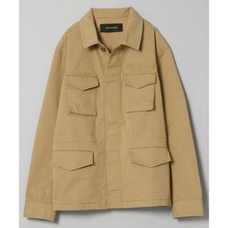 JEANASIS - ジーナシス M65 ミリタリーシャツジャケット