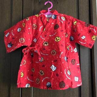 アンパンマン(アンパンマン)のアンパンマン総柄 子供用 甚平♡ 赤(甚平/浴衣)