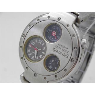 SPALDING - SPALDING プロフェッショナルギアー 腕時計 温度計 方位磁針