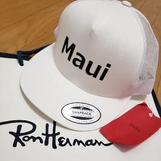ロンハーマン(Ron Herman)の【新品/ハワイ購入】TONY★Maui・スナップバック キャップ(キャップ)