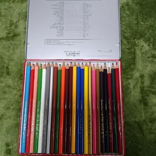 三菱鉛筆 - 三菱 色鉛筆 24色