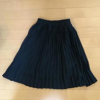 ジーユー(GU)のGU 女の子 プリーツロングスカート 130㎝(スカート)