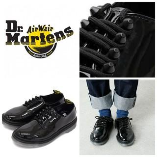 ドクターマーチン(Dr.Martens)のほぼ未使用/ロックで美しいモデルDr.Martens SMITHSシューズUK5(ローファー/革靴)