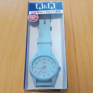 8fe9fb0e3b シチズン(CITIZEN)のCITIZEN Q&Q 腕時計 アナログ ブルー VS40-011 レディース(腕時計