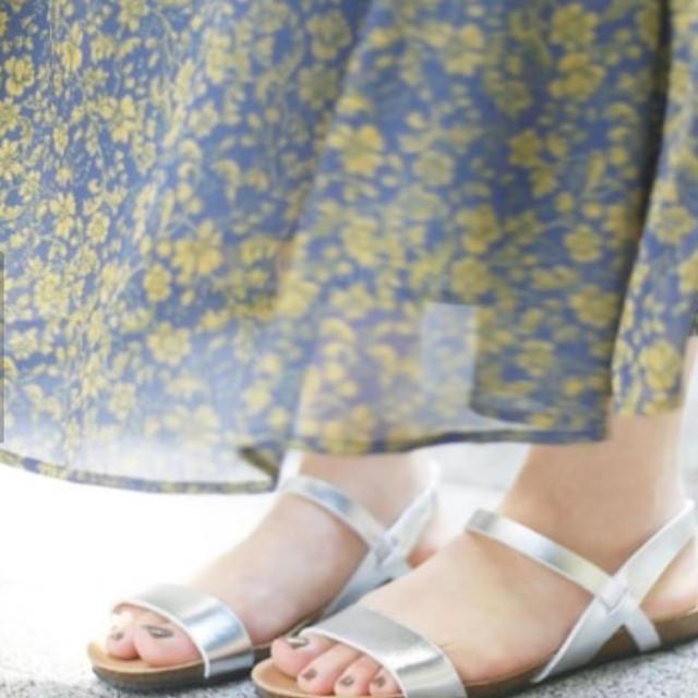 Le Talon(ルタロン)の今季 プラクトン サンダル シルバー 36 *美品です* レディースの靴/シューズ(サンダル)の商品写真
