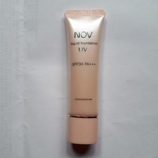 ノブ(NOV)のノブ リキッドファンデーション UV ピンクオークル10(ファンデーション)