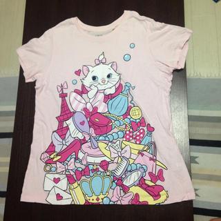 ディズニー(Disney)のUT ユニクロ ディズニー グラフィックTシャツ マリー(Tシャツ(半袖/袖なし))