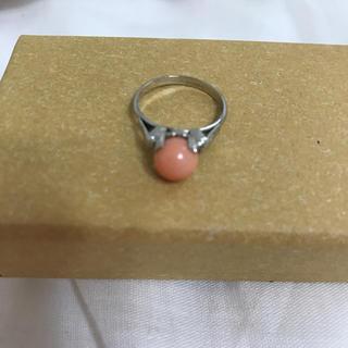 天然サンゴ リング(リング(指輪))