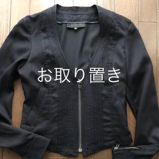 アンタイトル(UNTITLED)のUNTITLEDのジャケット イエナ  INDIVI(ノーカラージャケット)