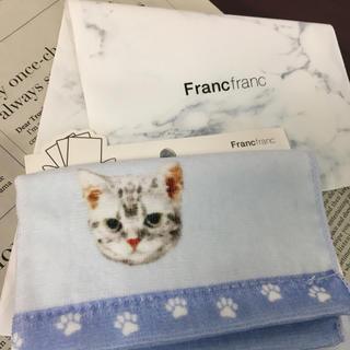 フランフラン(Francfranc)のfrancfrac*タオルハンカチ(ハンカチ)