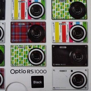 ペンタックス(PENTAX)のペンタックスPENTAXOptio RS1000着せ替え(コンパクトデジタルカメラ)
