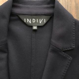 インディヴィ(INDIVI)の INDIVIの上品なネイビージャケット 23区 エムプルミエ(テーラードジャケット)