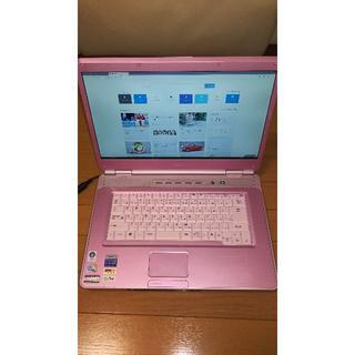 エヌイーシー(NEC)のNEC ノートパソコンPC-LL750TG6P 【SSD仕様】(ノートPC)