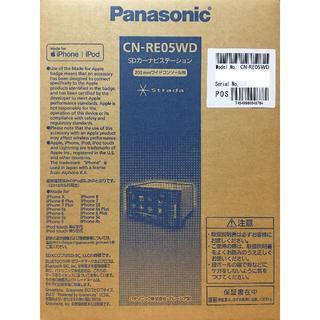パナソニック(Panasonic)の【新品】パナソニック ストラーダ CN-RE05WD 7V型ワイド カーナビ(カーナビ/カーテレビ)
