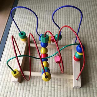 イケア(IKEA)の【中古】IKEA ルーピング 知育玩具(知育玩具)