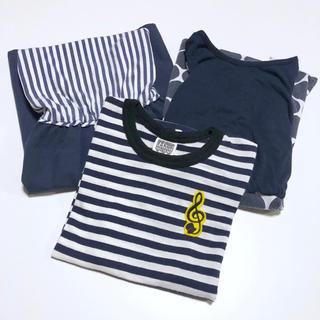 GU - used★女の子120cm ワンピース2枚とTシャツ 3枚セット まとめ売り