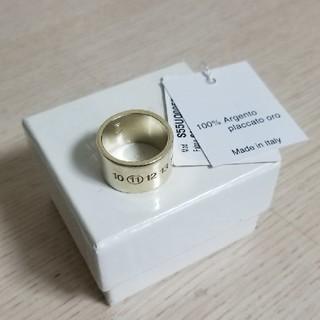 マルタンマルジェラ(Maison Martin Margiela)のメゾンマルジェラ シルバーナンバーリング M(リング(指輪))