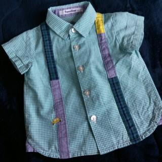 familiar - ファミリア 半袖シャツ 80