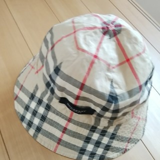 バーバリー(BURBERRY)のバーバリー リバーシブル帽子56(帽子)