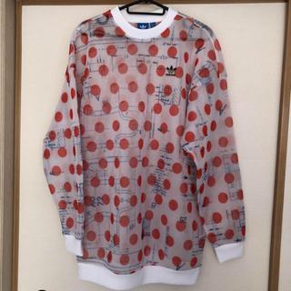 アディダス(adidas)のadidas メッシュ 長袖Tシャツ(Tシャツ/カットソー(七分/長袖))
