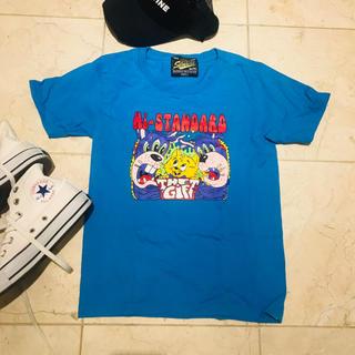 HIGH!STANDARD - ★Hi-STANDARD★2017ツアーTシャツ キッズLサイズ