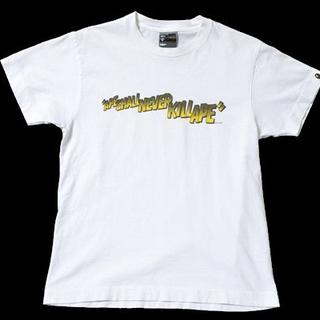 アベイシングエイプ(A BATHING APE)の◆A Bathing Ape◆sizeM bape T-shirt/(Tシャツ/カットソー(半袖/袖なし))