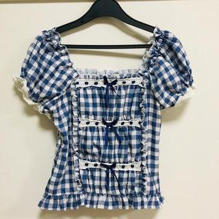 リズリサ(LIZ LISA)のLIZLISA ストロベリージャム トップス(Tシャツ(半袖/袖なし))