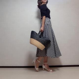 Chesty - ギンガムチェック スカート マキシ
