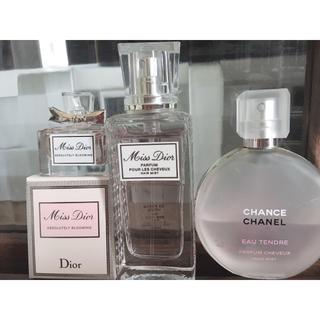 シャネル(CHANEL)のCHANEL Dior ヘアミスト 香水セット(ヘアウォーター/ヘアミスト)