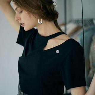 アメリヴィンテージ(Ameri VINTAGE)のameri 変形カットソー Tシャツ(Tシャツ(半袖/袖なし))