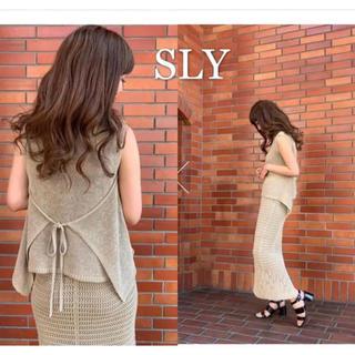 SLY - 新品✴︎スライ ツーピース