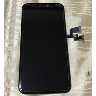 アップル(Apple)の雷電様専用 iPhoneX 純正フロントパネル(その他)