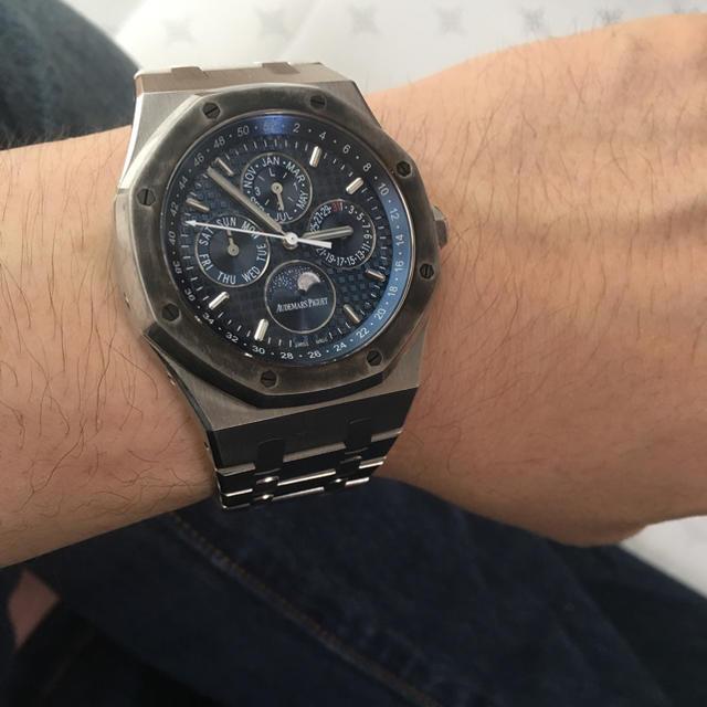 AUDEMARS PIGUET(オーデマピゲ)のオーデマピゲ パーペチュアルカレンダー メンズの時計(腕時計(アナログ))の商品写真