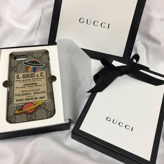 Gucci - GUCCI iphone7ケースの通販