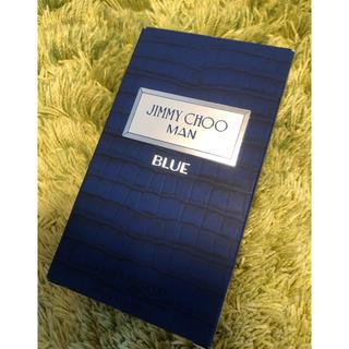 ジミーチュウ(JIMMY CHOO)のJIMMY CHOO MAN BLUE  100ml 空箱(香水(男性用))
