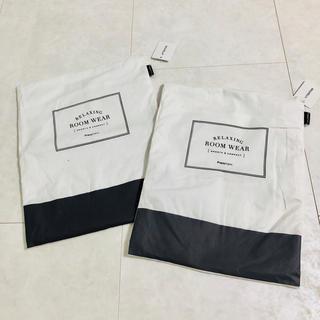 フランフラン(Francfranc)の新品 フランフラン ウェア カバー ケース 2枚セット ホワイト グレー(ポーチ)