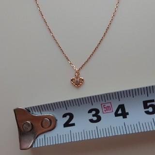 NOJESS - ノジェス  ネックレス  K10  ゴールド  ハート  ダイヤモンド
