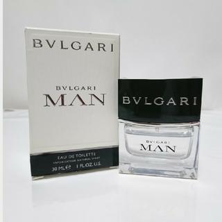 ブルガリ(BVLGARI)のブルガリ マン オードトワレ EDT 30ml 送料無料(香水(男性用))