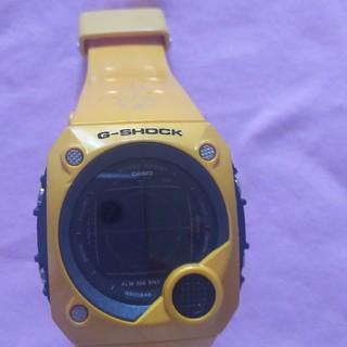 ジーショック(G-SHOCK)の腕時計Gーshockイエロー(腕時計(デジタル))