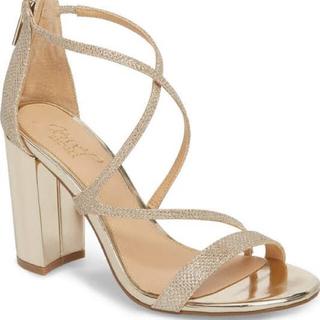 ジミーチュウ(JIMMY CHOO)のbadgley mischka gale block heel(ハイヒール/パンプス)