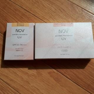 ノブ(NOV)の【新品未開封☆】ノブ パウダリーファンデーション☆(ファンデーション)