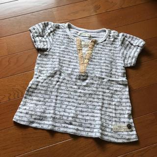ビケット(Biquette)の花柄Tシャツ⭐️90ビケット(Tシャツ/カットソー)