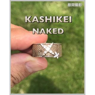 カシケイ ネイキッド リング ダイヤモンド D0.18ct / D0.03ct(リング(指輪))