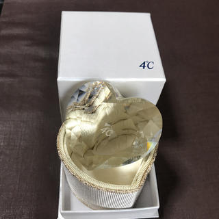 ヨンドシー(4℃)の4°C クリスタル  ハート【美品】(その他)