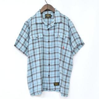 ダブルタップス(W)taps)のWTAPS ダブルタップス VATOS S/S オープンカラーシャツ L(シャツ)